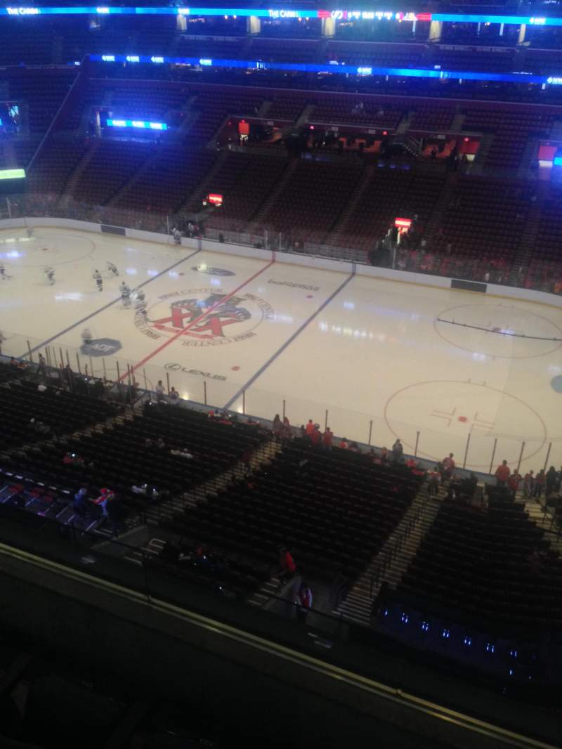 Seating view for BB&T Center Section 416 Row 2 Seat 1