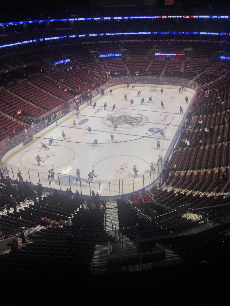 Seating view for BB&T Center Section 425 Row 2 Seat 1