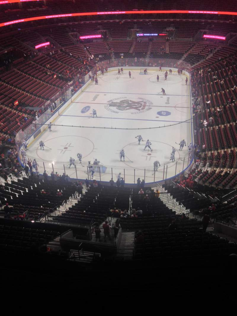 Seating view for BB&T Center Section 426 Row 2 Seat 1