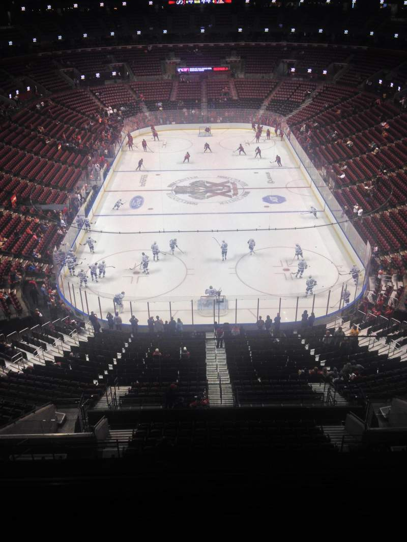 Seating view for BB&T Center Section 327 Row 2 Seat 1