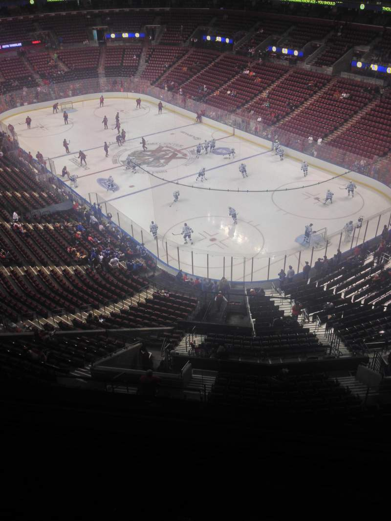 Seating view for BB&T Center Section 330 Row 2 Seat 1