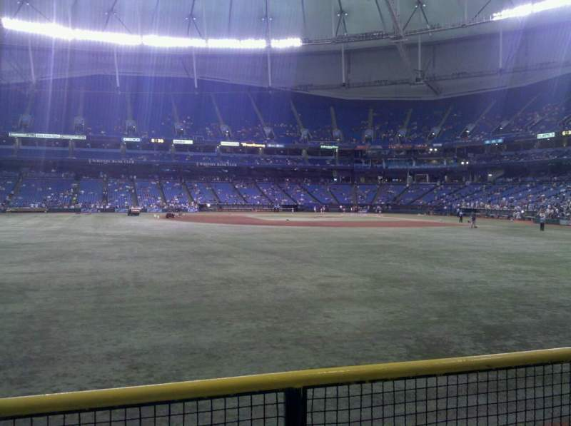 Seating view for Tropicana Field Section 147 Row v Seat 15