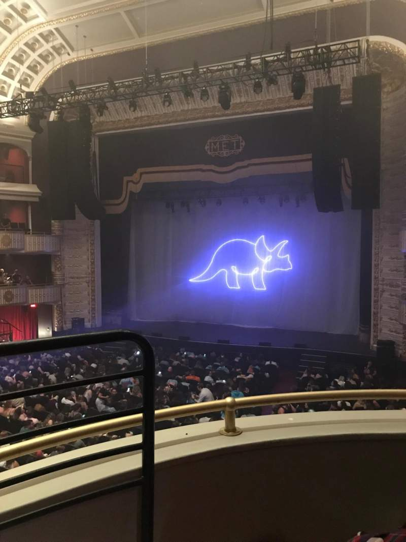 Seating view for The Met Philadelphia Section Grand Salle Box 7 Row B Seat 5