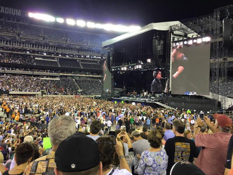 Seating view for MetLife Stadium Section 113 Row 7 Seat 7