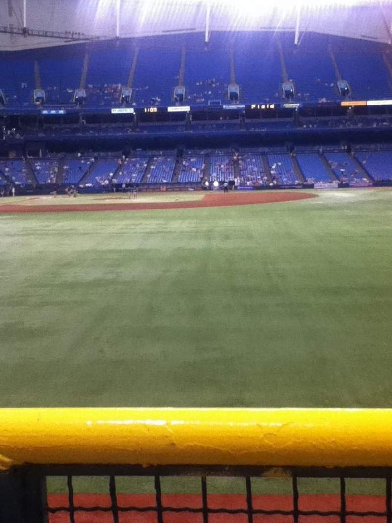 Seating view for Tropicana Field Section 144 Row T Seat 21
