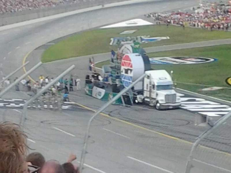 Seating view for Kentucky Speedway Section 3f Row 10 Seat 6