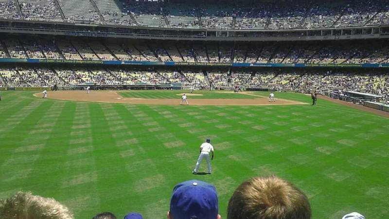 Seating view for Dodger Stadium Section 305PL Row g Seat 1