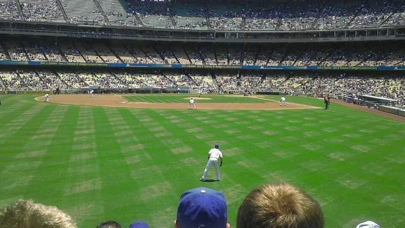 Dodger Stadium, section: 305PL, row: g, seat: 1