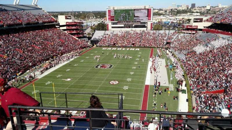 Seating view for Williams-Brice Stadium Section 907 Row 15 Seat 10