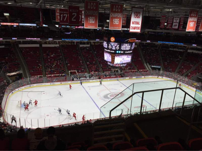 Seating view for PNC Arena Section 326 Row F Seat 5