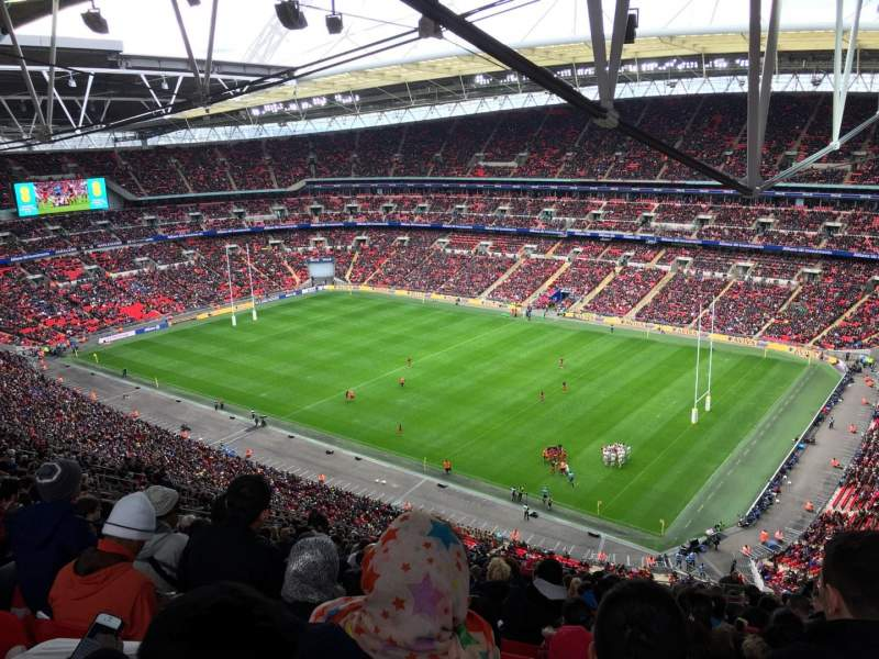 Seating view for Wembley Stadium Section 521 Row 33 Seat 233
