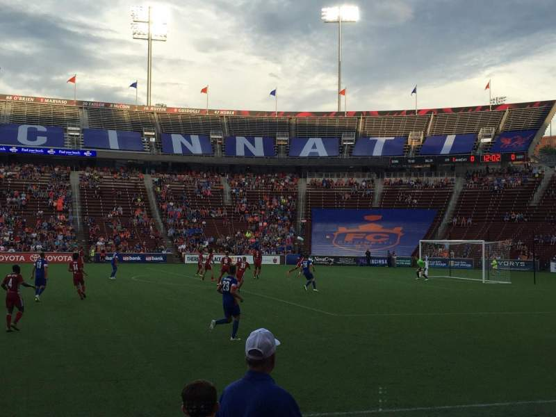Seating view for Nippert Stadium Section 120 Row 6 Seat 10