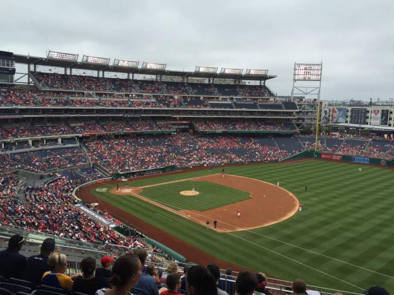 Seating view for Nationals Park Section 224 Row N Seat 11