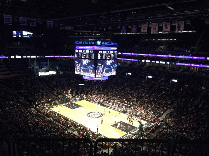 Seating view for Barclays Center Section 220 Row 10 Seat 7