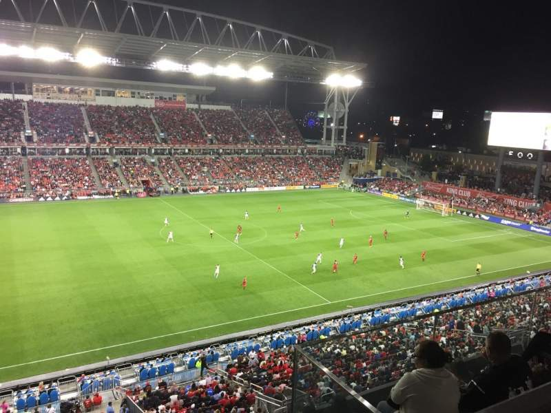 BMO Field, section: 209, row: 6, seat: 6