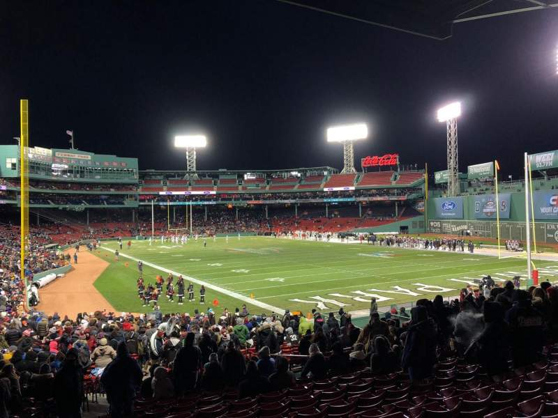 Seating view for Fenway Park Section Right Field Box 2 Row 3 Seat 16