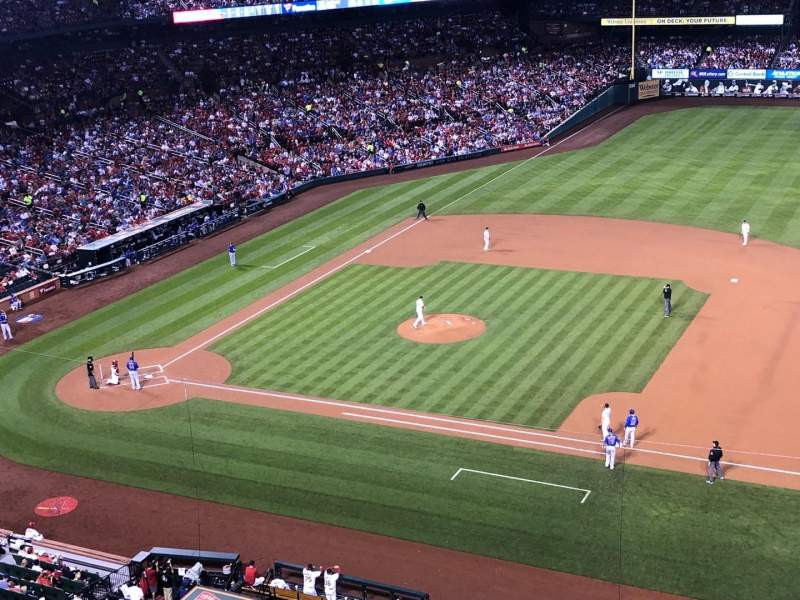 Busch Stadium, section: 341, row: 1, seat: 1