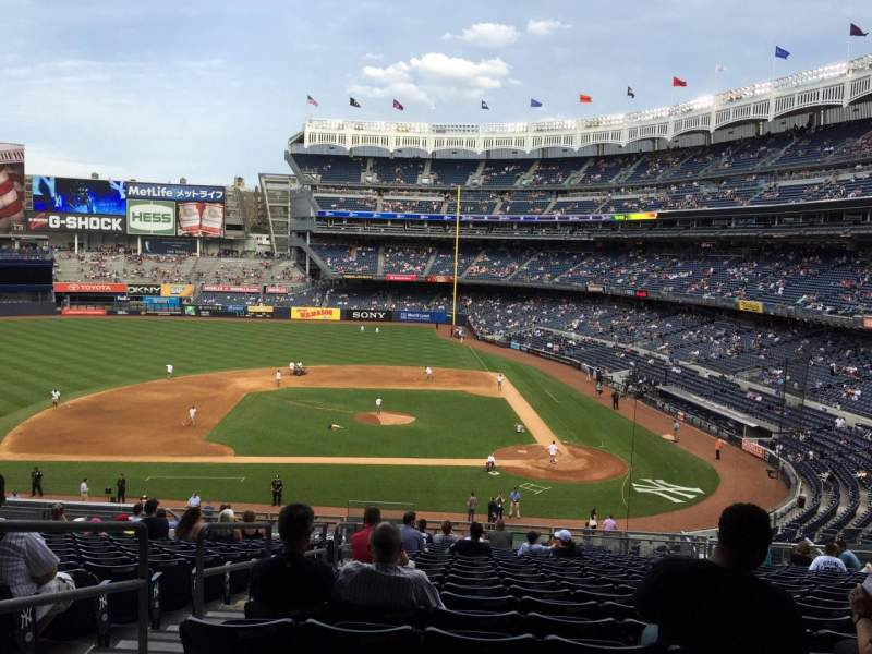 Seating view for Yankee Stadium Section 223 Row 18 Seat 20