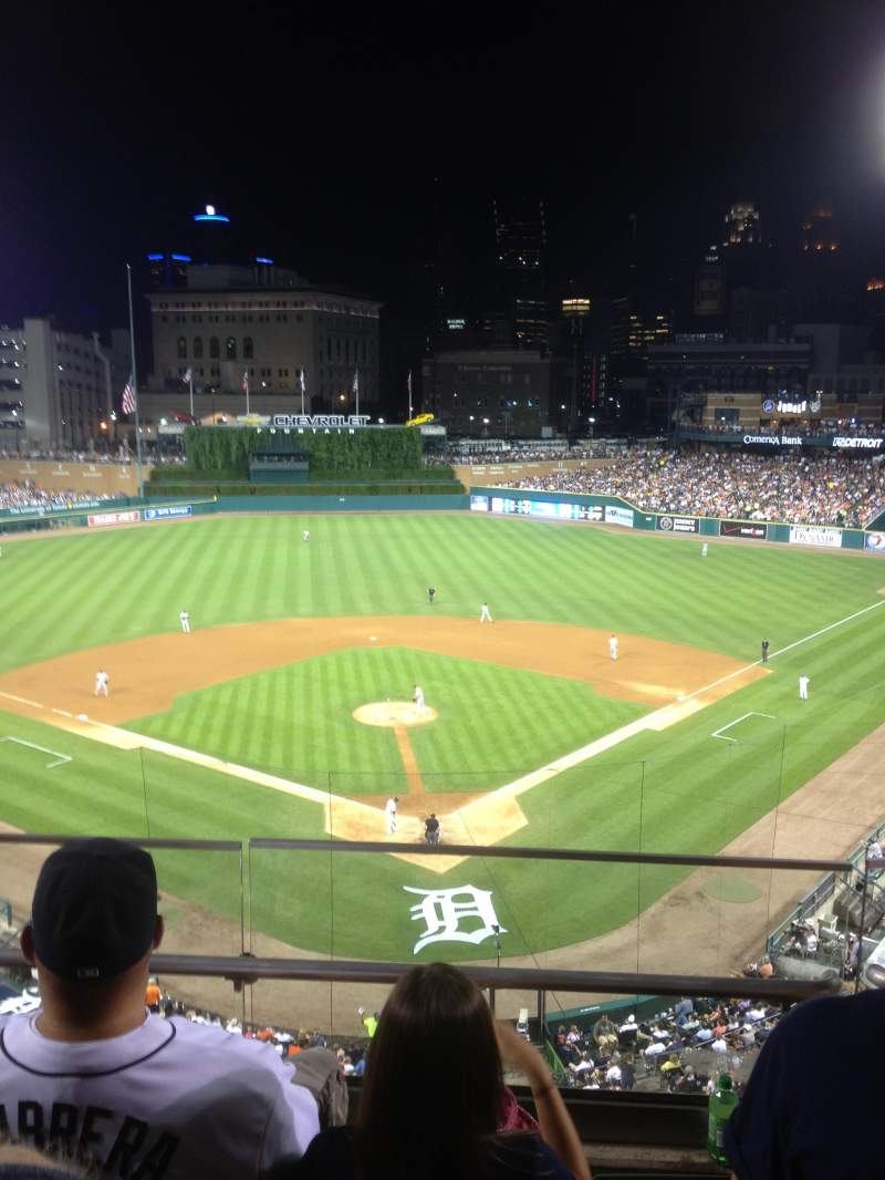 Seating view for Comerica Park Section 328 Row C