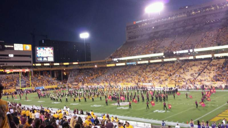 Seating view for Sun Devil Stadium Section 26 Row 30 Seat 3