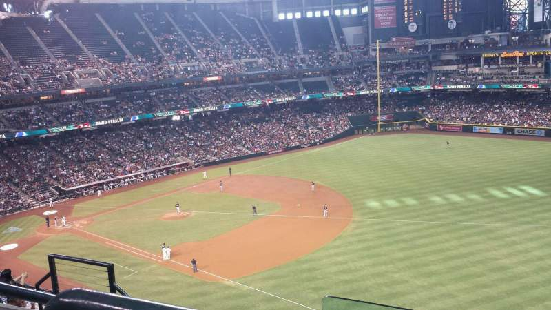 Seating view for Chase Field Section 304 Row 8 Seat 15
