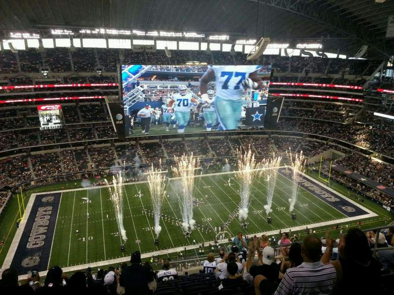 At Amp T Stadium Section 415 Home Of Dallas Cowboys