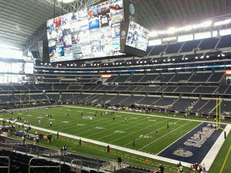 Seating view for AT&T Stadium Section 204 Row 12 Seat 8
