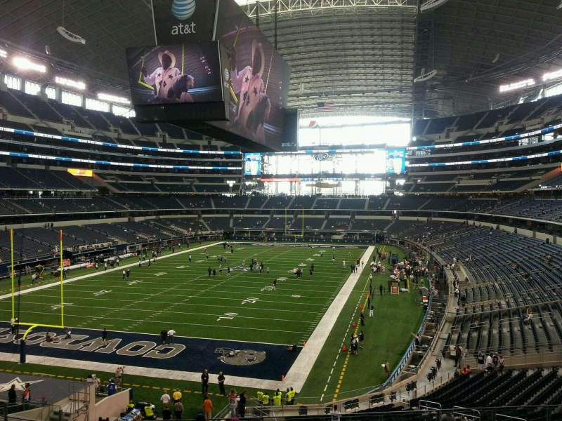 Seating view for AT&T Stadium Section 244 Row 11 Seat 21