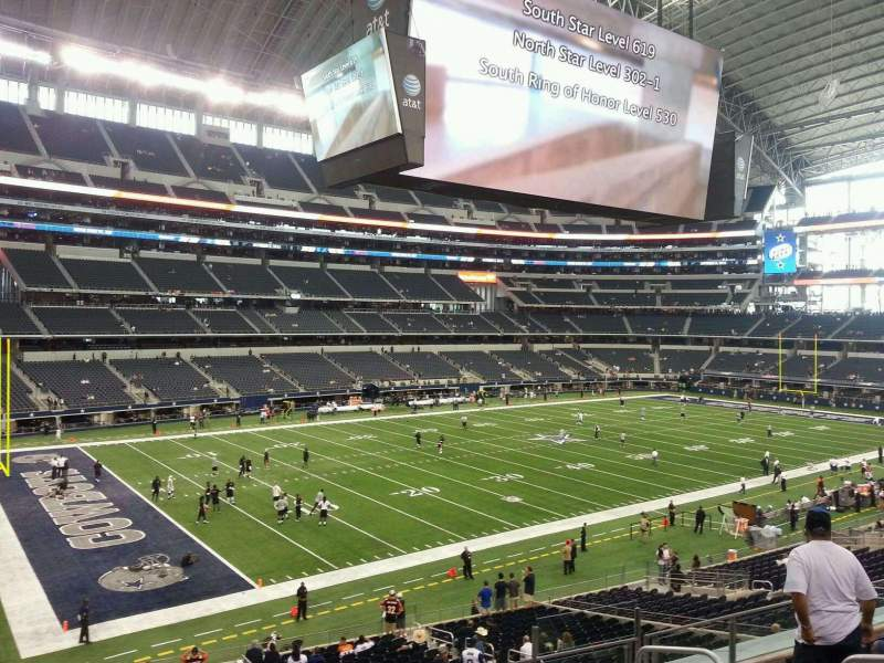 Seating view for AT&T Stadium Section 241 Row 7 Seat 7