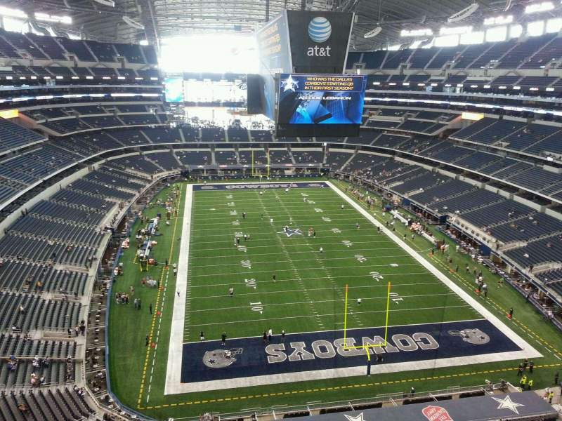 Seating view for AT&T Stadium Section 460 Row 2 Seat 2