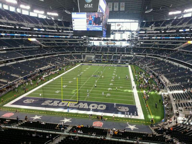 Seating view for AT&T Stadium Section 322 Row 2 Seat 7