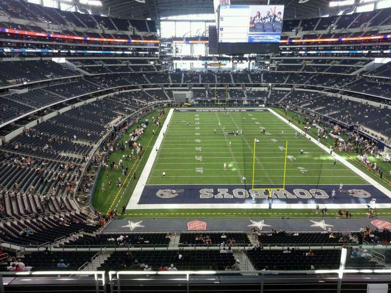 Seating view for AT&T Stadium Section 325 Row 5 Seat 4