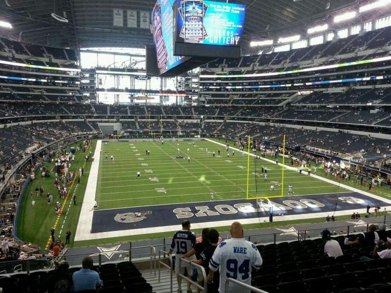 Seating view for AT&T Stadium Section 224 Row 14 Seat 7
