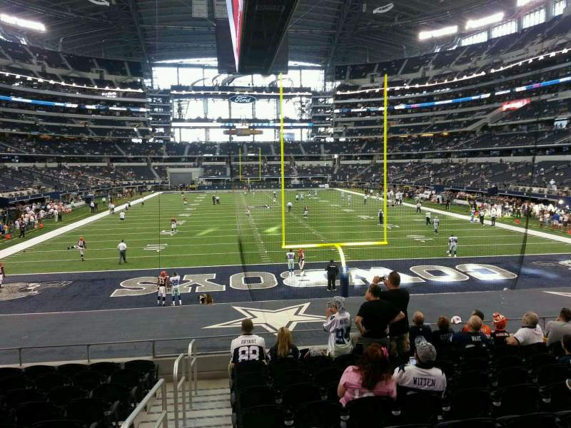 Seating view for AT&T Stadium Section 123 Row 18 Seat 23
