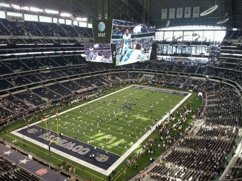 Seating view for AT&T Stadium Section 422 Row 6 Seat 17
