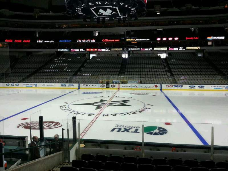 Seating view for American Airlines Center Section 118 Row L Seat 12