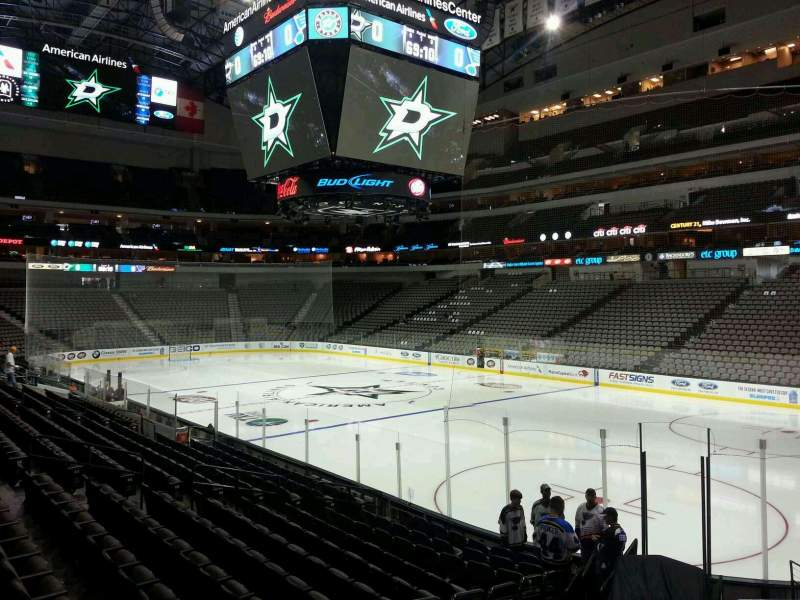 Seating view for American Airlines Center Section 115 Row L Seat 11