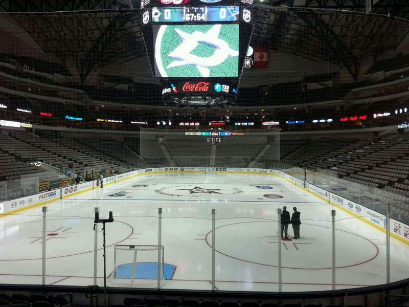 Seating view for American Airlines Center Section 112 Row M Seat 15