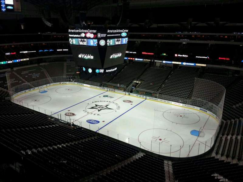 Seating view for American Airlines Center Section 306 Row C Seat 13