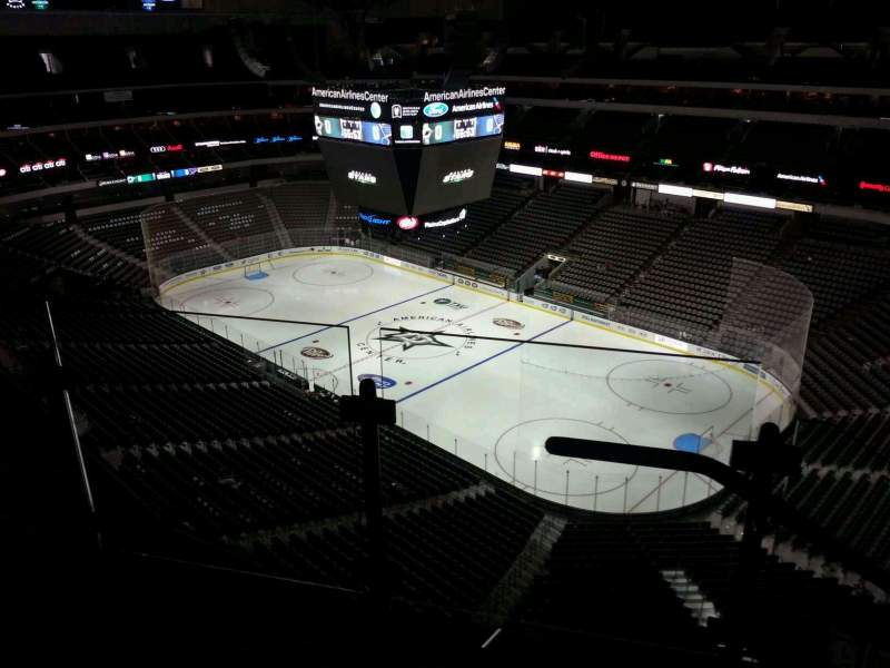 Seating view for American Airlines Center Section 305 Row G Seat 10