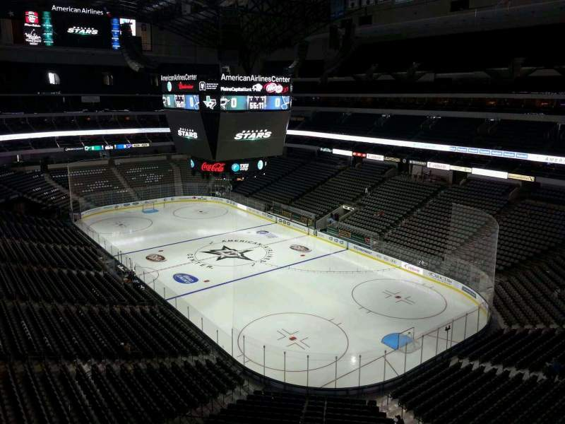 Seating view for American Airlines Center Section 304 Row DD Seat 15