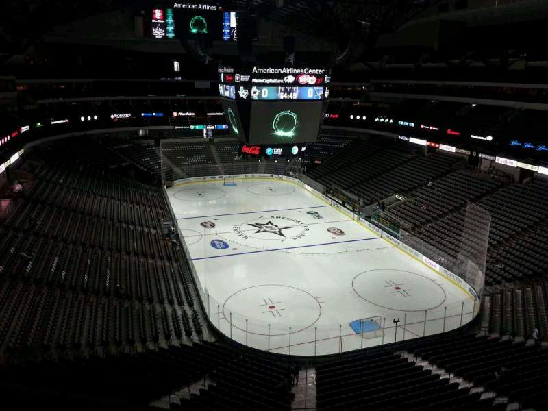 Seating view for American Airlines Center Section 303 Row A Seat 9