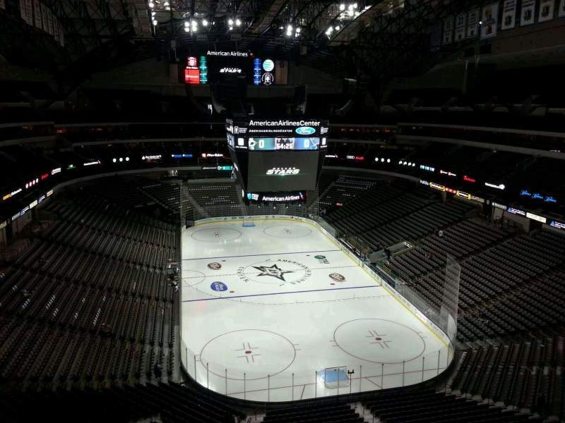 Seating view for American Airlines Center Section 302 Row E Seat 12