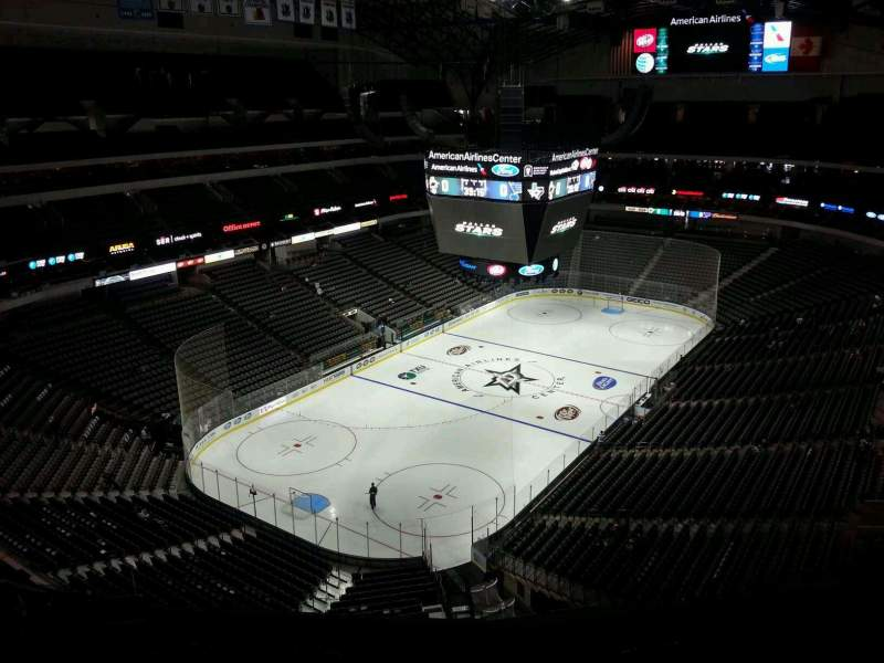 Seating view for American Airlines Center Section 315 Row L Seat 10