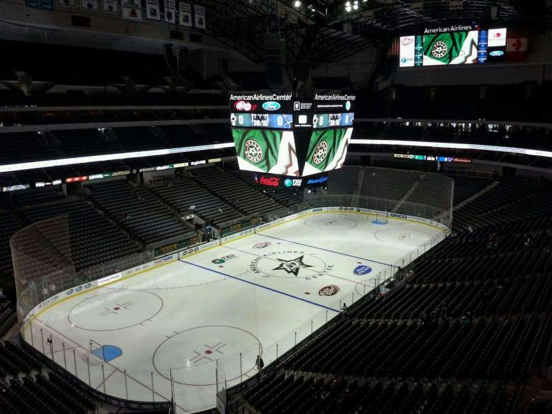 Seating view for American Airlines Center Section 314 Row B Seat 14