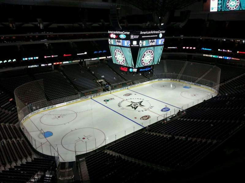 Seating view for American Airlines Center Section 313 Row E Seat 11