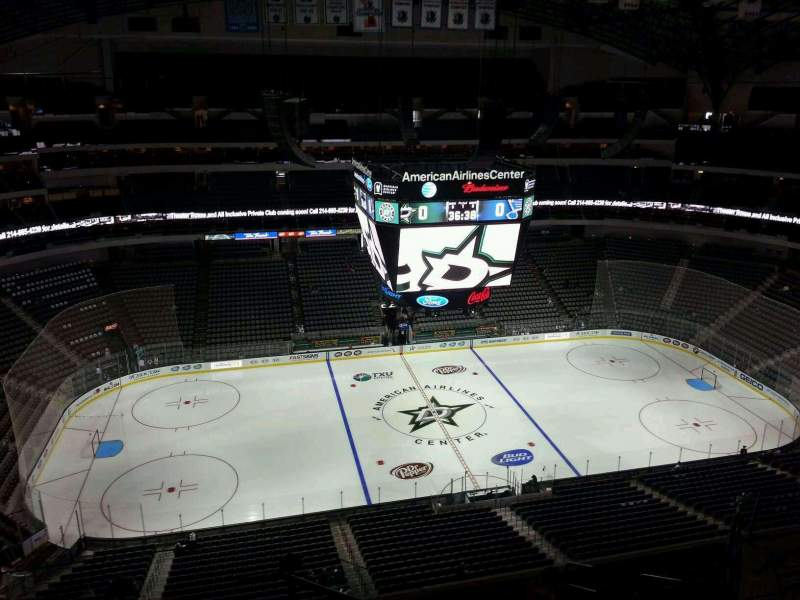 Seating view for American Airlines Center Section 311 Row K Seat 19