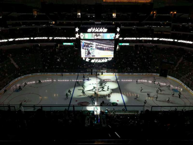 American Airlines Center Section 326 Home Of Dallas