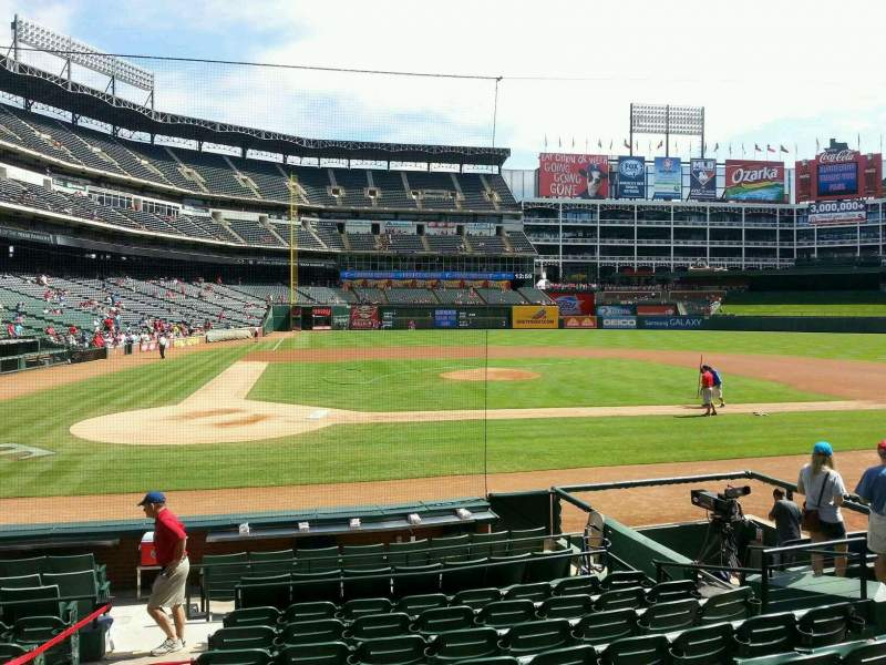 Seating view for Globe Life Park in Arlington Section 31 Row 10 Seat 2