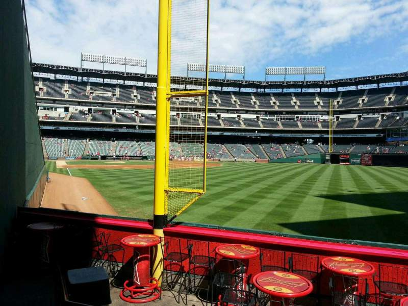 Seating view for Globe Life Park in Arlington Section 43